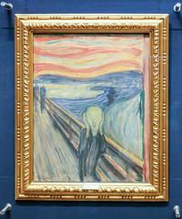 """The Scream"" (1893) (Justin Kane) Tags: art oslo norway museum painting gallery national scream edvard munch museet the nasjonal"