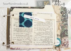 Maple-grove (hearthandmade_uk) Tags: autumn fall leaves collage mixedmedia sewing journal stitching embellishments stitched artjournal