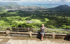 Pali Lookout (THE SMOKING CAMERA HeRvEy BaY davefryer) Tags: vacation usa holiday temple hawaii flickr view sony group maui panoramic lookout honolulu pali byodoin dschx9v