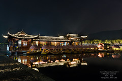 HangZhou West Lake at night (MOG'S) Tags: china night view westlake hangzhou nightscene nightview    dri  hdr blending multiexposure digitalblending  hangzhouwestlakechina