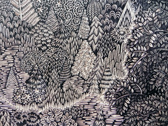 """OVERLOOK"" Woodcut Print (Detail) by Tugboat Printshop (Tugboat Printshop) Tags: wood trees art forest print drawing carving printmaking woodworking woodcut woodcarving woodblock woodcutting woodcutprint tugboatprintshop traditionalprintmaking traditionalwoodcut limitededitionforestprint drawingtoprint"