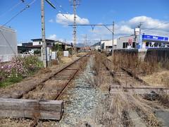 Abandon line (Matt-san) Tags: japan private japanese railway trains transportation nagano naganoprefecture ner japnese naganoelectricrailway