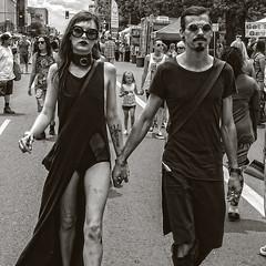American Gothic (Culture Shlock) Tags: street people blackandwhite bw men women gothic goth couples lovers mates menandwomen boyfriendandgirlfriend