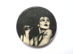 VINTAGE ADAM ANT BUTTON BADGE (psychocandy65) Tags: music adam rock punk pin ant gothic goth badge ants button memorabilia adamant adamandtheants