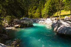 Magic water (bruno_mesmin) Tags: nature water colors river slovenia soa