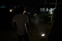 Secret Number is 89 (Tavepong Pratoomwong) Tags: night thailand bangkok smoke streetphotography number