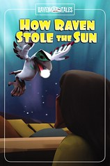 How Raven Stole the Sun (Vernon Barford School Library) Tags: vernon barford library libraries new recent book books read reading reads junior high middle school vernonbarford nonfiction paperback paperbacks softcover softcovers folklore nativepeoples native people peoples canada canadian canadians american americans alaska nativeamerican nativeamericans haida haidas legend legends legendary raven ravens legendarycharacter legendarycharacters character characters bird birds graphic novel novels graphicnovel graphicnovels graphicnonfiction david bouchard simon daniel james chris kientz 1 9781770581371 how stole sun fnmi bookcover bookcovers cover covers firstnationsinuitmetis firstnations aboriginal comics cartoons