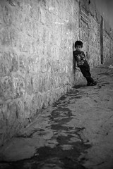 Curious boy @Mardin (muratkkefe) Tags: boy portrait blackandwhite white black canon kid flickr streetphotography best mardin cadde bestkids bestportrait canon6d