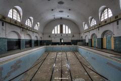 swimming pool (Michis Bilder) Tags: pool swimming urbanexploration hdr urbex lostplace
