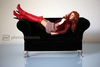 red boots photoshoot -p4d- 01