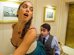 Hotel Paradise (George Marinakis) Tags: portraits hotel actors comedy theater paradise play performance actress georges act select feydeau