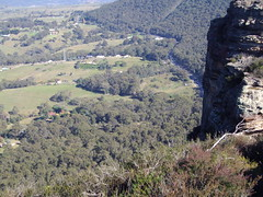 Lithgow. From a lookout near the town. (denisbin) Tags: bluemountains lookout nsw lithgow
