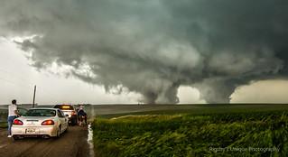 Pilger, Nebraska Twin Tornadoes {Explored}