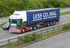 H6864 - PO14 VFU (Cammies Transport Photography) Tags: station truck grace lorry m8 service eddie bp delilah scania esl harthill stobart eddiestobart vfu r440 po14 po14vfu h6864
