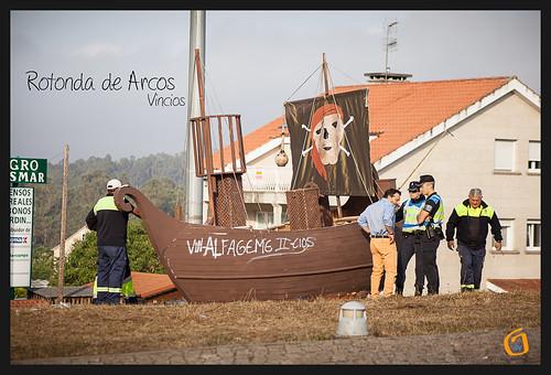 Barco rotonda de Arcos Vincios