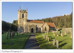 All Saints Church, Brantingham, East Yorkshire (Paul Simpson Photography) Tags: paulsimpsonphotography photoof sonya77 imagesof imageof religion religious eastyorkshire brantingham humberside tower graves headstones march2017 trees eastriding churchphotography