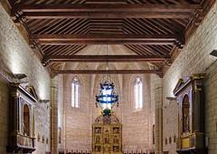 Iglesia del convento de Santa Clara (Astudillo, Palencia) (rabiespierre) Tags: convento iglesia clarisas artesonado góticomudéjar astudillo palencia