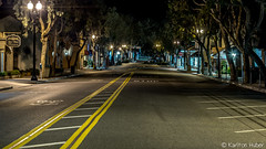 Laguna Beach - Forest Ave (www.karltonhuberphotography.com) Tags: 2017 citystreets deserted earlymorning empty forestave karltonhuber lagunabeach light lonely lowlight middleoftheroad mystery nightphotography parking peaceful quiet shops southerncalif1ornia streetlamps streetphotography streetscene urban