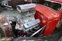 1936 Chevrolet (bballchico) Tags: 1936 chevrolet pickuptruck danwilliams resurrectedrustgarage portlandroadstershow prs2017 carshow supercharged engine carart pinstripe