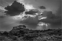 Junagarh Fort Rajasthan India (gerardphotography62) Tags: junagarh fort rajasthan gerardphotgraphy62 gerardphotography62piwigocom sky clouds india