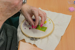 DSC_0713 (surreyadultlearning) Tags: embroidery sewing adulteducation surrey camberley art craft tutor uk painting calligraphy photography