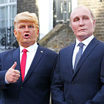 From flickr.com: Presidents Vladimir Putin and Donald Trump {MID-206735}