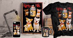 Happy (Pit Bull) Dog Pills (Beverly & Pack) Tags: happy happypills pitbull pitbulls bully breed american terrier dog dogs puppy puppies k9 industrail poster coffee cup mug picture image tshirt tee sweatshirt hoodie cellphone case americanpitbullterrier antibsl breedspecificlegislation black forsale pills cartoon illustration rescue shelter adopt adoption save bull bullterrier staffordshire staffordshirebullterrier americanbully clothing americanstaffordshireterrier sale popular bestselling bulldogs hero ww1 ww2wwi wwii