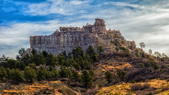 Pulpit Rock (markalt) Tags: colorado usa vacation canon mountains outdoors landscape photo photography pretty outside mountain hiking coloradosprings usavacation clouds dramatic drama colorful sky 2017 cloudy beautifullandscapes flickrexploreme canon24105 explore wow bestpicture nature tree foliage hill steep rocky mood moody ethereal