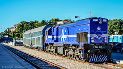 2044 017 in Split (deniob86) Tags: split nikon d3200 lokomotiva locomotive railway croatia hrvatska hrvatske zeljeznice mala karavela 2044 shunting manevra voz vlak train