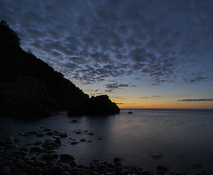 Blue Silhoutte (Budoka Photography) Tags: silhouette bluehour bluesky clouds 7dwf sunset dusk landscape seascape waterscape longexposure le outdoor rocks kullaberg nationalpark nature sweden