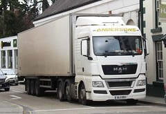 Andersons transport BL11 OEO at Welshpool (joshhowells27) Tags: lorry truck andersontransport bedford man refrigerated