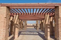 Licht & Schatten (jennifer.stahn) Tags: travel travelphotography maroc marocco marokko marrakesch marrakech marrakesh el badi palast palace light licht schatten shadow nikon jennifer stahn bluesky niceview
