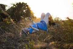 Levitate (_mattdalton_) Tags: jessie field levitate sunset