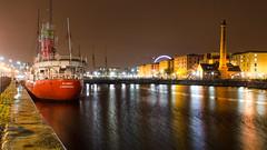 #Liverpool Docks and warehouses (Joe Dunckley) Tags: albertdock canningdock liverpooldocks architecture boat building dock ferriswheel harbour lightship pumphouse reflection warehouse water