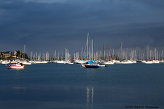 Belmont Bay Storm (Right On Photography) Tags: belmont storm clouds boats yachts lake macquarie lakemacquarie southerly