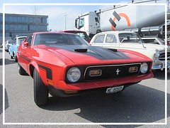 Ford Mustang Mach 1 (v8dub) Tags: ford mustang mach 1 schweiz suisse switzerland fribourg freiburg otm american muscle pkw pony voiture car wagen worldcars auto automobile automotive youngtimer old oldtimer oldcar klassik classic collector