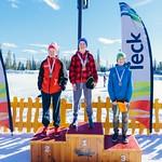 Big White U14 Provincials Top Men: 1st  Hemming Sola from Apex; 2nd Adam Usher from Whistler; 3rd Cameron Seward from Grouse Tyee