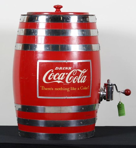 Coca-Cola Barrel Dispenser ($560.00)