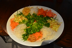 Yee Sang Chinese New Year Salad - Alpha - veggies (avlxyz) Tags: australiapost parcelsgroup atasteofharmony atasteofharmony2017 harmonyday fb5