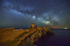 A solas contigo... (elpitiuso) Tags: milkyway night nightscape stars rocks ibiza universe galaxy cosmos space
