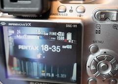 SONY DSC-H1 (f8shutterbug) Tags: idb macromondays happy10years camera gear sony macro closeup