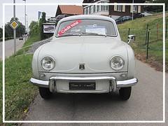 Renault Dauphine, 1959 (v8dub) Tags: renault dauphine 1959 schweiz suisse switzerland fribourg freiburg french pkw voiture car wagen worldcars auto automobile automotive old oldtimer oldcar klassik classic collector
