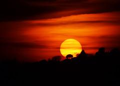 Tramonto romano (Japo García) Tags: tramonto roma avión aereo pincio nubes sol rojo atadecer árboles siluetas naranja amarillo cielo puesta de