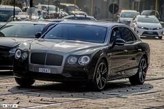 Bentley Flying spur W12 Milan Italy 2017 (seifracing) Tags: bentley flying spur w12 milan italy 2017 seifracing spotting services cars car vehicles voiture van police polizei transport vans