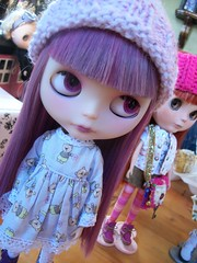 Amicon at the Blythe Meet (simplychictiques) Tags: blythemeet sandpointidaho blytheswap gettogether happy goodtimes dolls dollphotography april22017 friends gathering sarah ruth anita kimberly food gifts