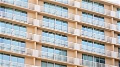 Interesting DSC00749 (Lynn Friedman) Tags: architecture apartments modern midcentury outside nobody railing windows texture 94103 favorites favs imagebrief favstock stock fav