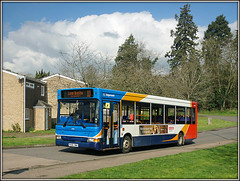 34816, Welton Road (Jason 87030) Tags: weltonroad daventry northants northamptonshire 11 2017 march route houses estate town longbuckby dennis dart stagecoach 34816 px06dwa driver rugby friendly helpful sony shot flickr tag publictransport