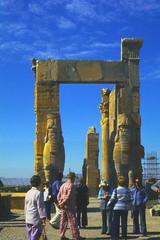 Found Photo - Iran - Persepolis - Archeological Site 01.tif (David Pirmann) Tags: iran ruins archeology persia persian unesco worldheritage xerxes parsa takhtejamshid achaemenid dpfoundphotoasia1976 persepolis