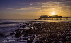 Spring Sunrise at Cromer (jammo s) Tags: cromer northnorfolk northsea sunrise norfolk pier 10stop longexposure lightroom canoneos6d canonef1740mmf4lusm