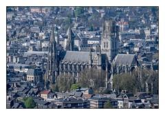 Abbatiale St Ouen, Rouen (SiouXie's) Tags: color couleur fujixe2 fujifilm fuji 55200 siouxies rouen normandie normandy ville city paysage landscape cathédrale cathedral abbatiale église church vi